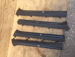Панельки порогов на Nissan GTR R35. Nissan GT-R, R35. Под заказ