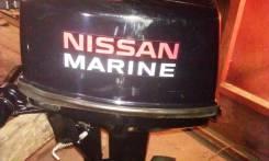Nissan Marine. 9,80л.с., 2х тактный, бензин, нога S (381 мм), Год: 2008 год
