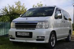 Nissan Elgrand. автомат, 4wd, 3.5 (240 л.с.), бензин, 205 000 тыс. км