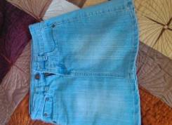 Юбки джинсовые. Рост: 128-134 см