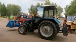 МТЗ 82.1. Продаю трактор МТЗ - 82.1 2013 с навеской КУН (ПКУ - 09) ковш + нож, 4 200 куб. см.
