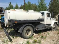 ГАЗ. Продам водовоз, 4 750 куб. см., 7,00куб. м.