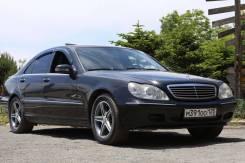 Mercedes-Benz S-Class. автомат, задний, 3.2 (224 л.с.), бензин, 265 000 тыс. км