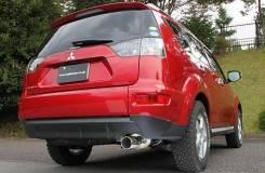 Глушитель. Mitsubishi Outlander, CW4W, CW5W Двигатели: 4B11, 4B12