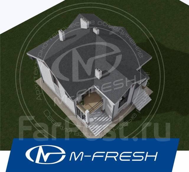 M-fresh Russian Hit! (Проект современного дома для России! ). 300-400 кв. м., 2 этажа, 7 комнат, бетон
