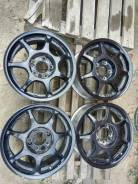 RS Wheels. 6.5x15, 4x114.30, 5x114.30, ET35, ЦО 70,1 мм.