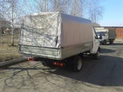 ГАЗ 3302. Газель (Новая) Борт, Тент, 2 900 куб. см., 1 500 кг.
