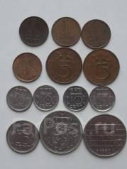 Нидерланды подборка из 13 монет. Без повторов! Торги с 1 рубля!