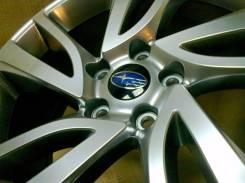 Subaru. 7.5x18, 5x114.30, ET55, ЦО 56,1мм.
