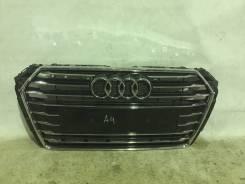 Решетка радиатора. Audi A4, 8W2, 8W5, 8WH Audi S4, 8W2, 8W5, 8WH Двигатели: CGWD, CRTC, CRTE, CSWB, CVKB, CVLA, CVNA, CWGD, CYMC, CYRB, CYRC, CZHA, DB...