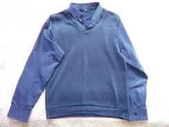 Совмещенный желет и рубашка. 50, 52
