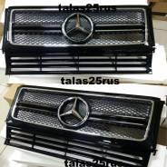 Накладка на решетку бампера. Mercedes-Benz G-Class, W463