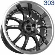 GTR. 9.0/9.5x18, 5x114.30, ET30/15, ЦО 73,1мм. Под заказ