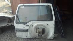 Дверь багажника. Mitsubishi Pajero Junior, H57A Двигатель 4A31