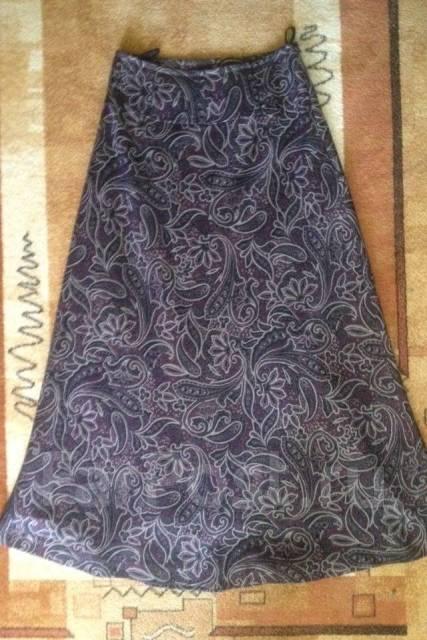 be6291874d6 Юбка-макси-клеш Woolstreet ежевичного цвета - Основная одежда во ...