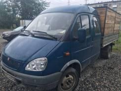 ГАЗ 330232. Продам Газель330232. Бортовой двухкабинный грузовик, 2 400 куб. см., 1 500 кг.