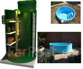Изготовление погреба и бассейнов из полипропилена под ваш размер