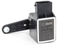 Датчик высоты дорожного просвета. BMW: 1-Series, 6-Series, 5-Series, 3-Series, 7-Series, Z8, Z4, X5 Двигатели: N43B20, N46B20, N47D20T0, N52B30, M47D2...