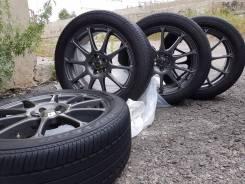 Продам колеса r17 с резиной 215/50/17 на Тойоту. 7.5x17 5x100.00 ET48 ЦО 67,1мм.