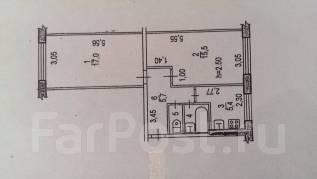 2-комнатная, переулок Краснореченский 8. Индустриальный, агентство, 475 кв.м.