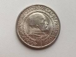 Мега состояние UNC монета 2 кроны 1921 год серебро
