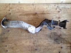 Приемная труба глушителя. Nissan X-Trail, NT30 Двигатель QR20DE