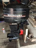 Mercury. 20,00л.с., 2х тактный, бензин, нога S (381 мм)