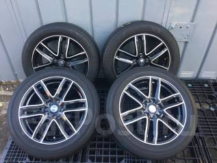 Колёса с шинами Bridgestone Regno GR-XI 215/55R17. 7.0x17 5x114.30 ET38