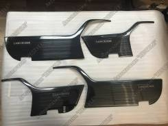 Накладка на ручки дверей. Toyota Land Cruiser, UZJ200W, J200, URJ202W, GRJ200, URJ200, URJ202, UZJ200