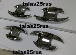 Накладка на ручки дверей. Toyota Land Cruiser Prado, GDJ150L, GRJ151, GDJ150W, GRJ150, GDJ151W, GRJ150L, TRJ150, KDJ150L, GRJ150W, GRJ151W, TRJ150W
