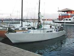 Крейсерская яхта даром. Длина 9,50м., Год: 1992 год