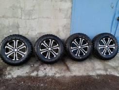 Жирный комплект колес Maxxis MT-762 Bighorn. 7.5x17 6x139.70 ET30 ЦО 107,1мм.
