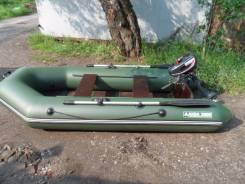 Мастер лодок Аква. Год: 2016 год, длина 2,80м., двигатель подвесной, 5,00л.с., бензин