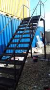 Металлоконструкции, лестницы, козырьки, навесы. Выезд. Договор.