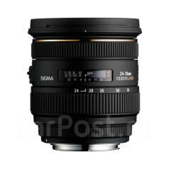 Объектив Sigma 24-70mm 1:2.8mm DG HSM ! Низкая Цена ! Магазин Скупка 25. Для Canon, диаметр фильтра 82 мм