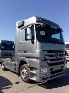 Mercedes-Benz Actros. Юбилейный тягач Mercedes-Benz 1844 LS Limited edition, 12 000 куб. см., 10 200 кг.