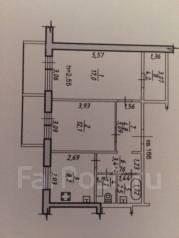 2-комнатная, улица Вахова 8Г. Индустриальный, агентство, 53 кв.м.