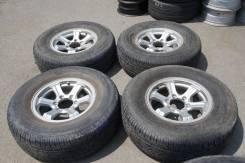 Продам комплект колес, возможна отправка. 7.0x16 6x139.70 ET26 ЦО 110,0мм.