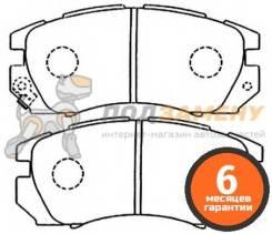 Колодки тормозные дисковые передние AKYOTO / AKD1335. Гарантия 6 мес.