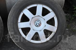 Колеса VW 5x112 195/65R15 VW Passat Golf Skoda. 7.0x15 5x112.00 ET45 ЦО 57,1мм.