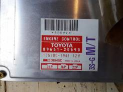Блок управления двс. Toyota Celica, ST183C, ST182, ST183 Toyota Carina ED, ST183, ST182 Toyota Corona Exiv, ST183, ST182 Двигатель 3SGE