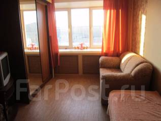 1-комнатная, улица Комсомольская 63. Центральный район, частное лицо, 30 кв.м.