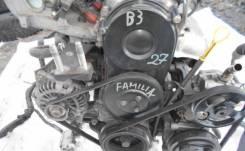 Двигатель в сборе. Mazda 323 Mazda Familia Mazda Protege Mazda Demio Двигатели: B3ME, B3, B3E
