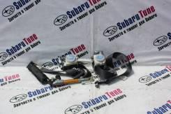Ремень безопасности. Subaru Forester, SG5, SG9, SG, SG9L
