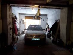 Продам большой гараж на 2 авто. флегонтова, р-н жд вокзала, 52 кв.м., электричество, подвал.