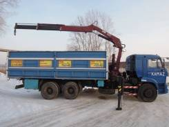 Камаз 65115. Продажа Камаз Борт+Кран в Красноярске, 6 700 куб. см., 6 000 кг., 7 м.