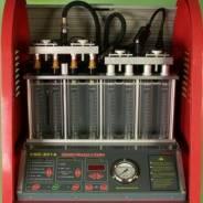Чистка инжекторов, дроссельных заслонок, замена свечей.