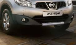 Накладка на бампер. Nissan Qashqai, J10, J11 Двигатели: MR20DE, HR16DE, R9M, H5FT. Под заказ