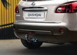 Накладка на дверь багажника. Nissan Qashqai, J10, J11 Двигатели: MR20DE, HR16DE, R9M, H5FT. Под заказ
