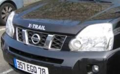 Дефлектор капота. Nissan X-Trail, T31, NT31, DNT31, TNT31 Двигатели: QR25DE, MR20DE, M9R. Под заказ